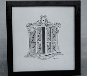 French Doors -detail