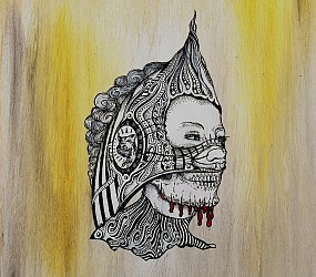 Dead Embalmed series – Fastfood Cashier (2008)