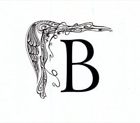 Letter B (Original drawing from the book The Dentist and The Toothfairy by TAOH)