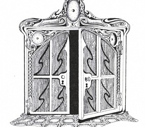 French Doors (Original drawing from the book The Dentist and The Toothfairy by TAOH)