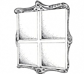 Window (Original drawing from the book The Dentist and The Toothfairy by TAOH)