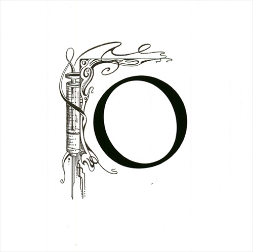 Letter O (Original drawing from the book The Dentist and The Toothfairy by TAOH)